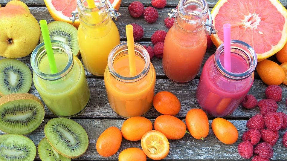 Healthy smoothie drinks