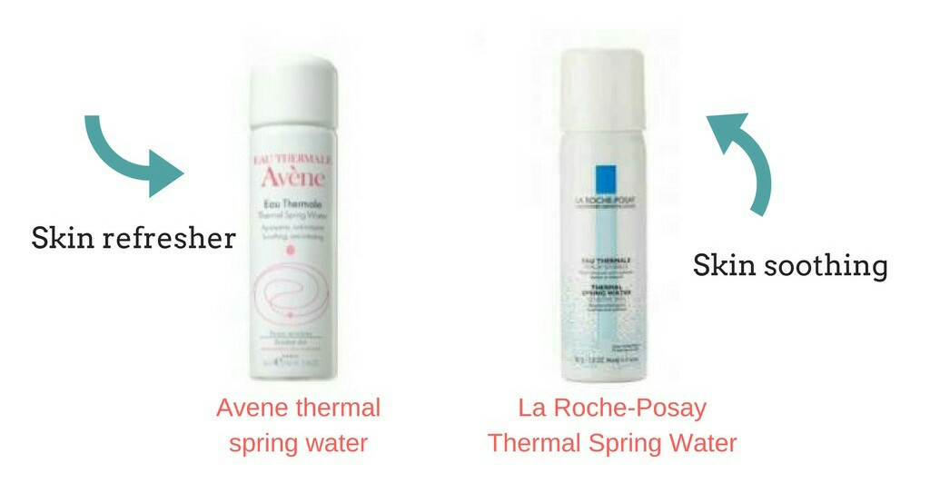 Thermal spring waters for summer