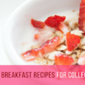 Top 10 easy and quick healthy breakfast recipes