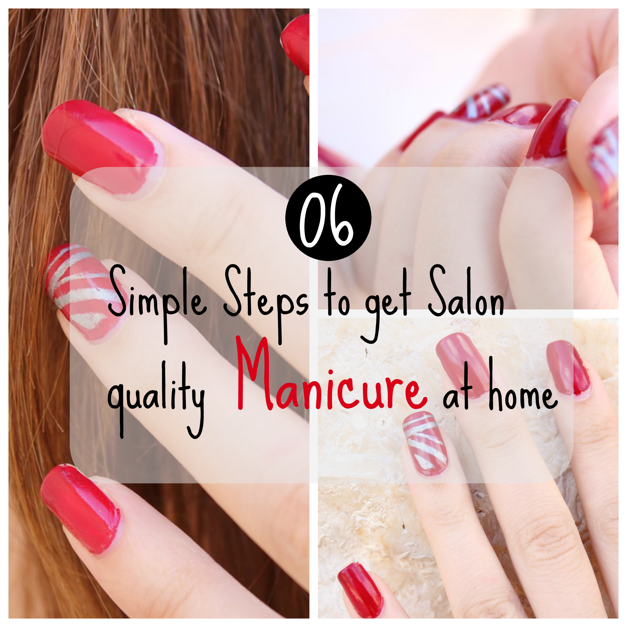 simple manicure steps