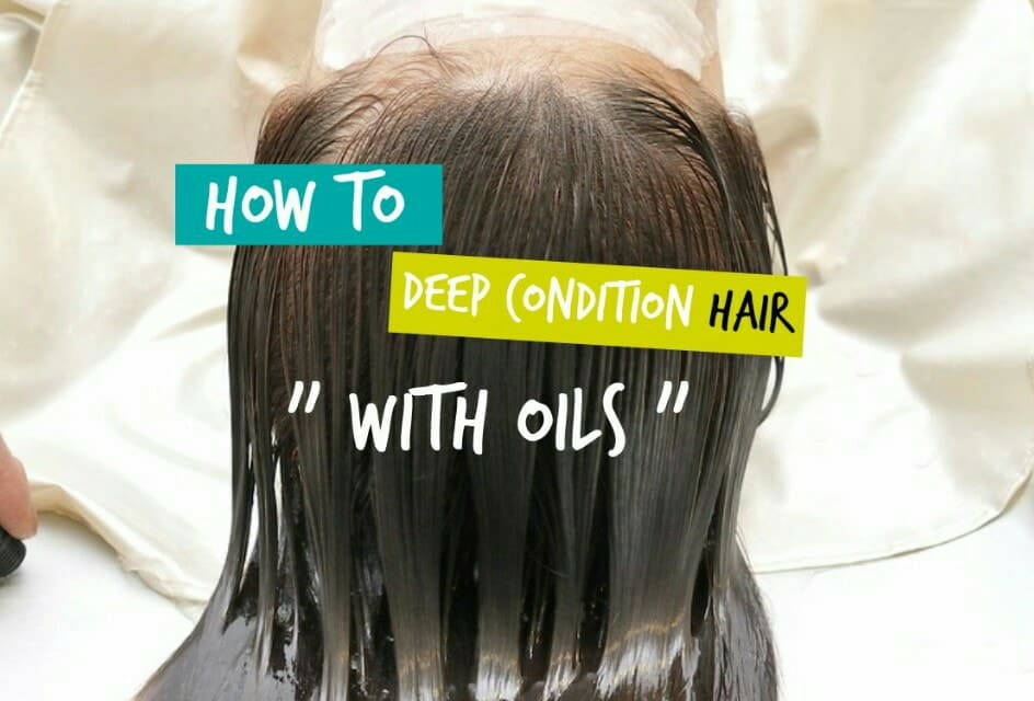 How To Deep Condition Natural Hair At Home Deep Conditioning