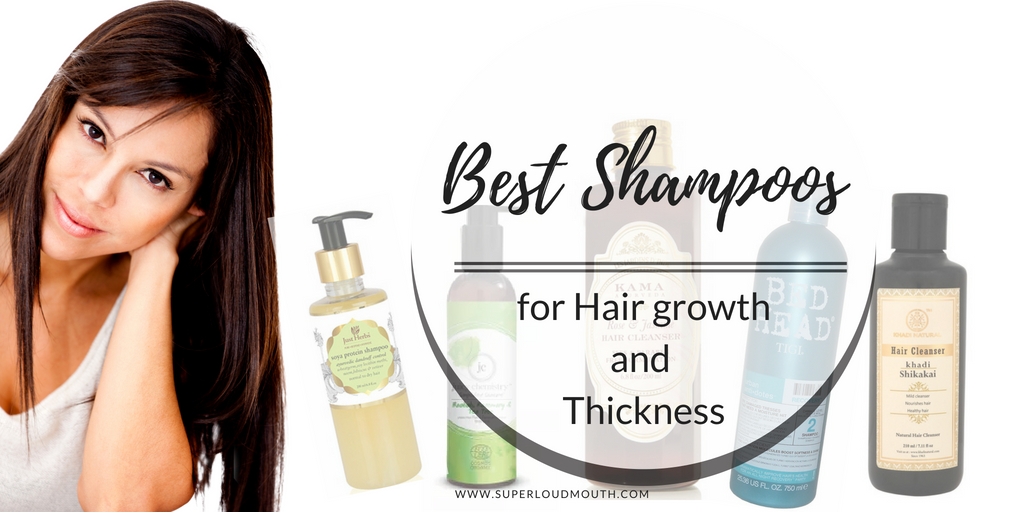10 Best Shampoos In India For Faster Hair Growth And Thickness