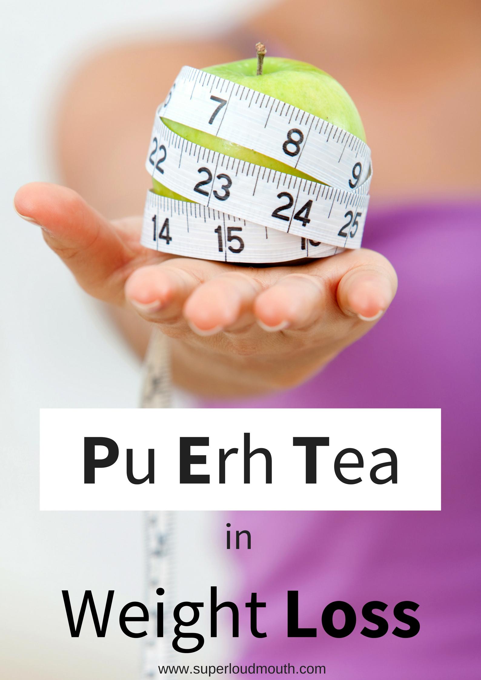Pu erh Tea in weight loss