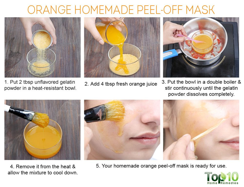 homemade diy peel off masks for acne, blackheads, skin whitening
