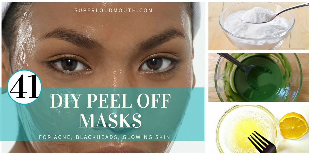 41 DIY Peel off Face Masks for Acne