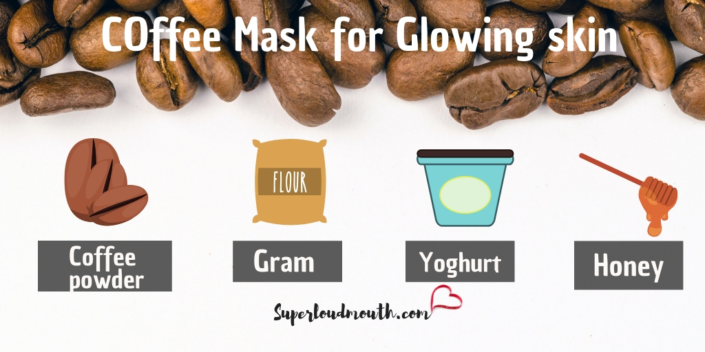 20 Coffee Face Mask Recipes For Acne Glowing Skin And Other Skin Issues