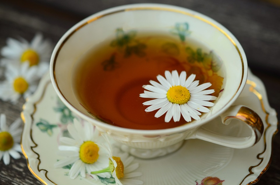 chamomile tea and acv toner