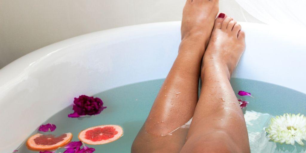 citrus foot soaks